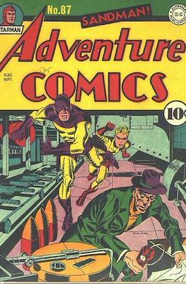 New Comics / New Adventure Comics / Adventure Comics (1935-1983; 2009-2011) (Saddle-Stitched) #87