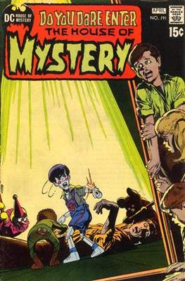 The House of Mystery (Grapa) #191