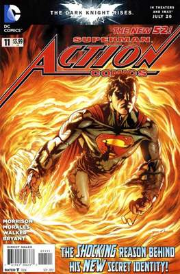 Action Comics Vol. 2 (2011-2016) (Grapa) #11