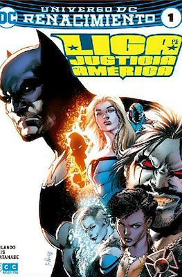 Liga de la Justicia de América (Rustica) #1
