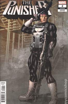 The Punisher (2018- Variant Cover) #2.1