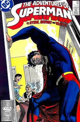 Superman Vol. 1 / Adventures of Superman Vol. 1 (1939-2011) (Comic Book) #439