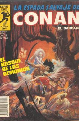 La Espada Salvaje de Conan. Vol 1 (1982-1996) (Grapa. B/N.) #32