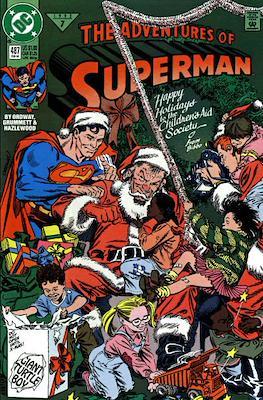 Superman Vol. 1 / Adventures of Superman Vol. 1 (1939-2011) (Comic Book) #487