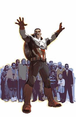 Capitán América de Nick Spencer. Marvel Now! Deluxe #3