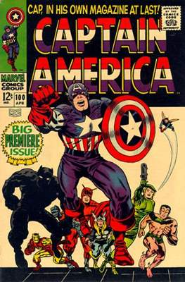 Captain America Vol. 1 (1968-1996)