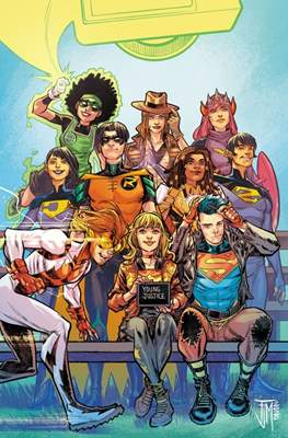 Young Justice (2019- Variant Cover) #19