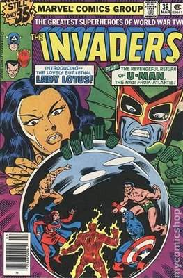 The Invaders (Comic Book. 1975 - 1979) #38