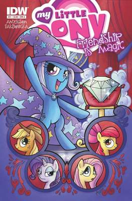 My Little Pony: Friendship Is Magic (Comic-Book) #21