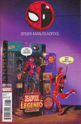 Spider-Man / Deadpool (Variant Cover) (Comic Book) #1.1