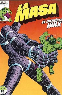 La Masa. El Increíble Hulk (Grapa 36-32 pp) #14