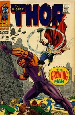Journey into Mystery / Thor Vol 1 (Comic Book) #140