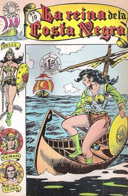 La Reina de la Costa Negra (2ª época - Grapa) #19