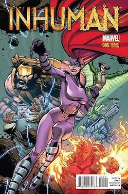 Inhuman (2014-2015 Variant Cover) (Comic Book) #5