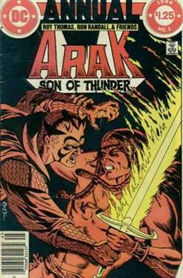Arak Son Of Thunder Annual