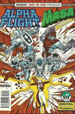 Alpha Flight Vol. 1 / Marvel Two-in-one: Alpha Flight & La Masa Vol.1 (1985-1992) (Grapa 32-64 pp) #49