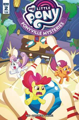 My Little Pony: Ponyville Mysteries (Variant Cover) (Comic Book) #2