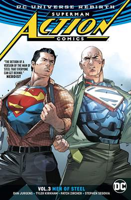 Superman: Action Comics Vol. 1 (2016) (Softcover) #3