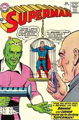 Superman Vol. 1 / Adventures of Superman Vol. 1 (1939-2011) (Comic Book) #167