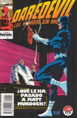 Daredevil Vol. 2 (1989-1992) (Grapa 32 pp) #29