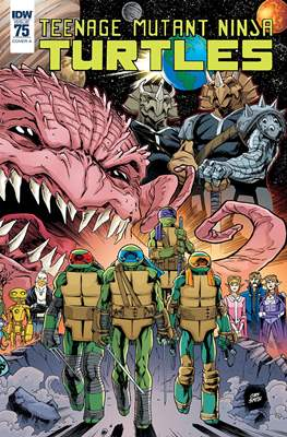 Teenage Mutant Ninja Turtles (2011-...) (Comic-book) #75