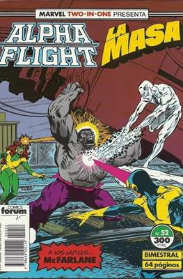 Alpha Flight Vol. 1 / Marvel Two-in-one: Alpha Flight & La Masa Vol.1 (1985-1992) (Grapa 32-64 pp) #52