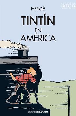 Tintín en América - Coloración inédita (versión de 1932)