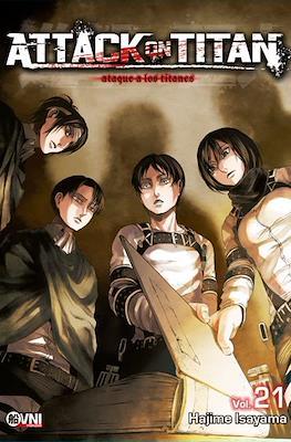 Attack on Titan (Rústica con solapas) #21
