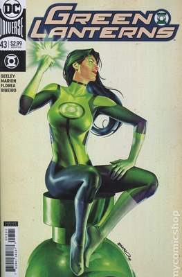 Green Lanterns (Vol. 1 2016-... Variant Covers) (Comic Book) #43