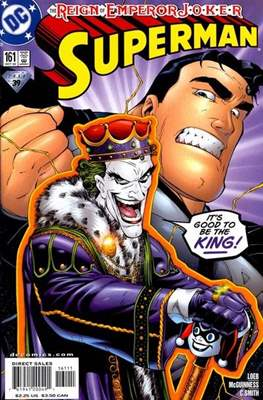 Superman Vol. 2 (1987-2006) (Comic Book) #161