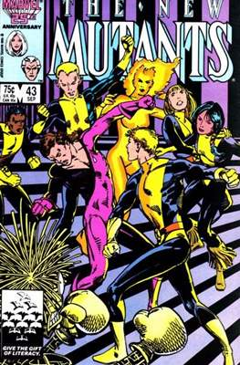 The New Mutants (Grapa) #43