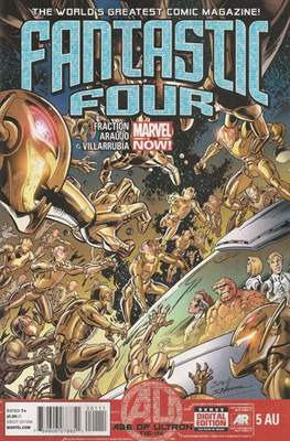 Fantastic Four Vol. 4 (Comic Book) #5AU