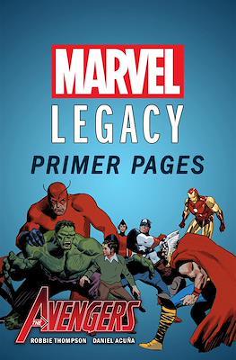 Avengers: Marvel Legacy Primer Pages