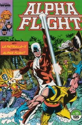 Alpha Flight Vol. 1 / Marvel Two-in-one: Alpha Flight & La Masa Vol.1 (1985-1992) (Grapa 32-64 pp) #13