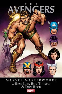 Marvel Masterworks: The Avengers (Softcover) #4