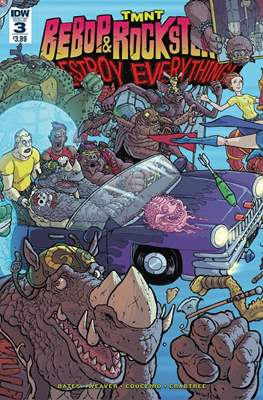 TMNT: Bebop & Rocksteady Destroy Everything (Comic book / Digital) #3