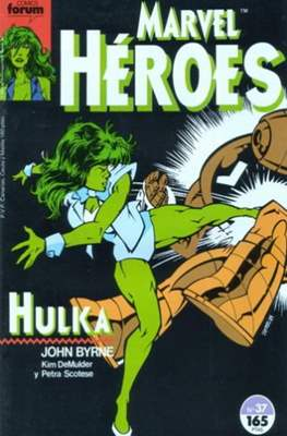 Marvel Héroes (1986-1993) (Grapa 32 pp) #37