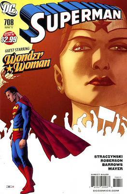 Superman Vol. 1 / Adventures of Superman Vol. 1 (1939-2011) (Comic Book) #708