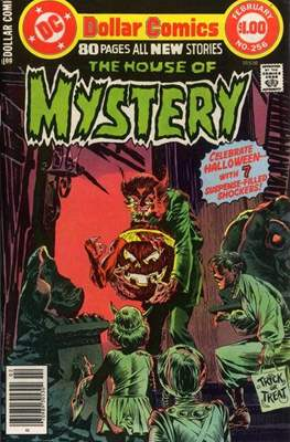 The House of Mystery (Grapa) #256
