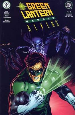 Green Lantern versus Aliens (Grapa) #1
