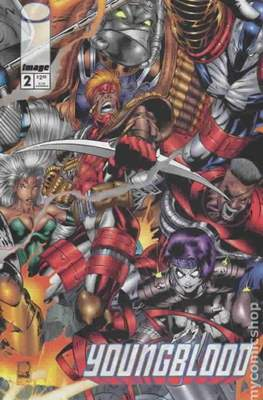 Youngblood (1995 Variant Covers) (Comic Book) #2