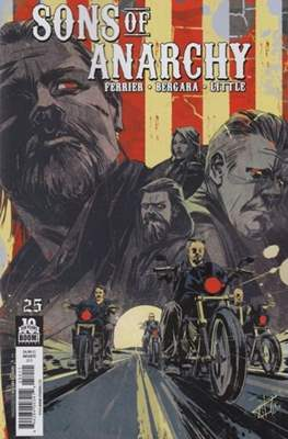 Sons of the Anarchy (Comic Book) #25