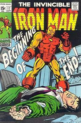 Iron Man Vol. 1 (1968-1996) (Comic book) #17