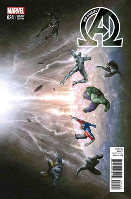 New Avengers Vol. 3 (2013 -2015 Variant Covers) (Comic Book) #24