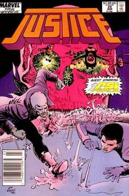 Justice. New Universe (1986) (Grapa.) #29