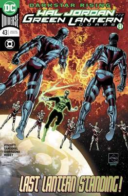 Hal Jordan and the Green Lantern Corps (2016-2018) (Comic-book) #43