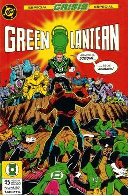 Green Lantern (1986-1987) (Grapa, 36-52 páginas) #27