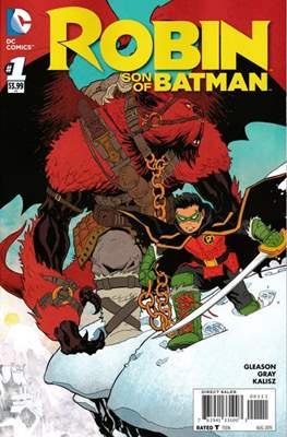 Robin Son of Batman (2015-2016) (Comic book) #1
