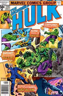 The Incredible Hulk Vol. 1 (1962-1999) (Comic Book) #215