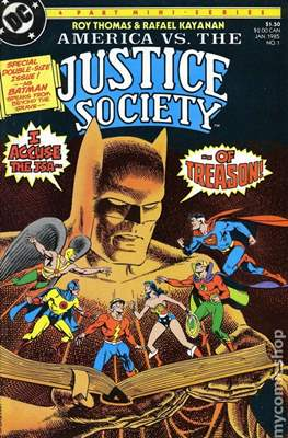 America vs The Justice Society